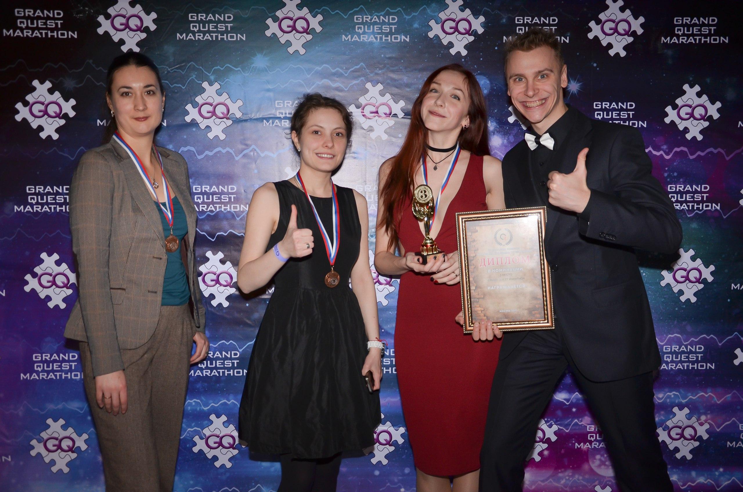 The Grand Quest Marathon: финальная вечеринка и награждение победителей