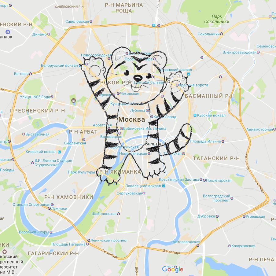Автоквесты Москвы: «Ночь. Улица. Машина. Карта»
