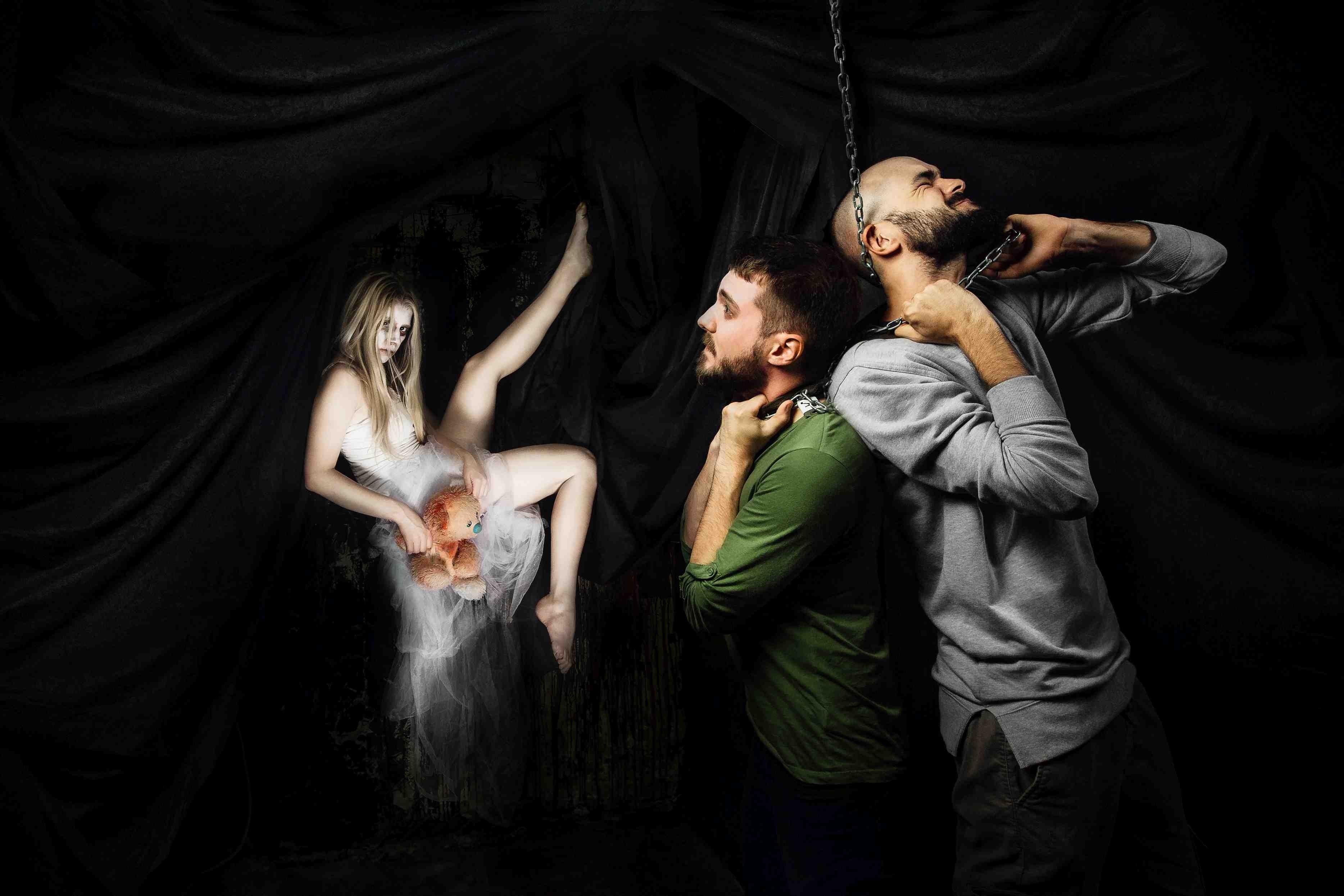 Эротические квесты: игра на грани