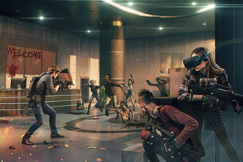 Anvio VR — битва с зомби в «режиме Бога»