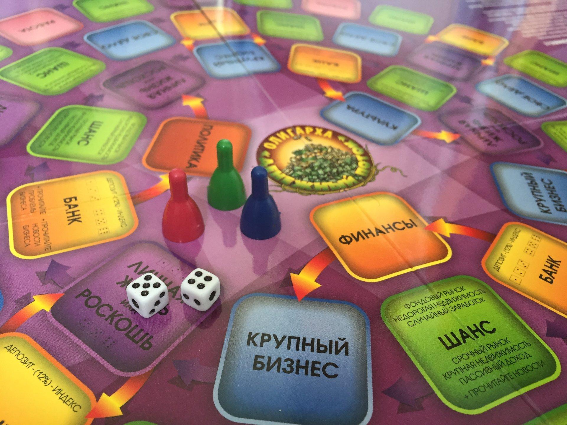 Деловая игра «Денежный поток Олигарха» в Москве